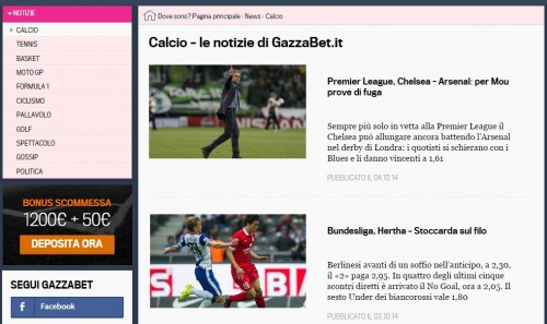 News Gazzabet